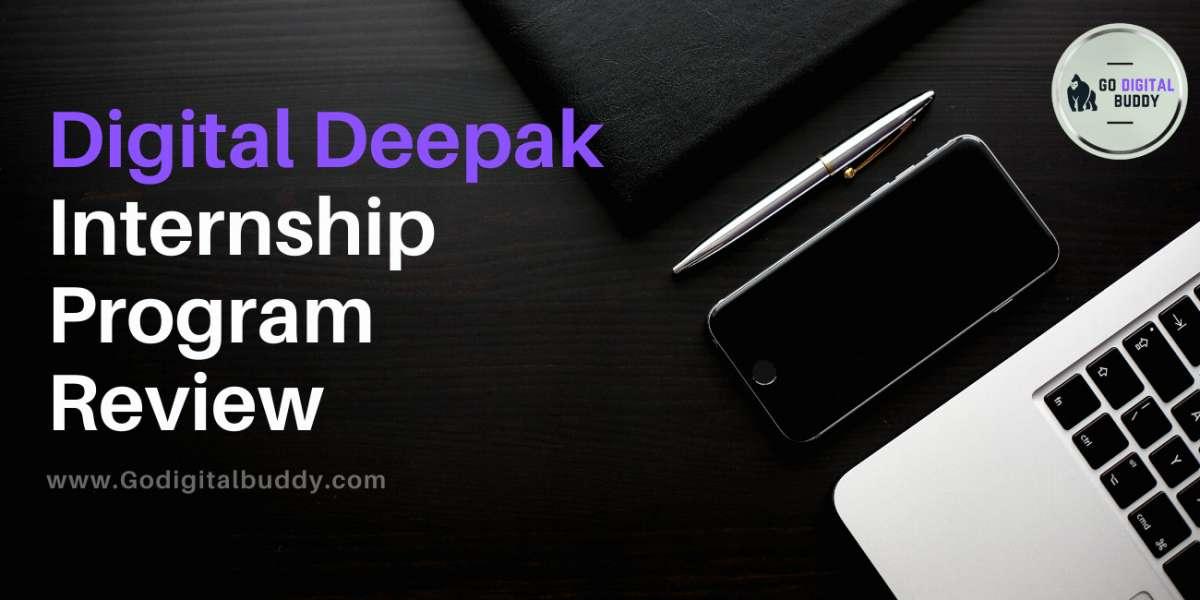 Digital Deepak Internship Program Review 2021