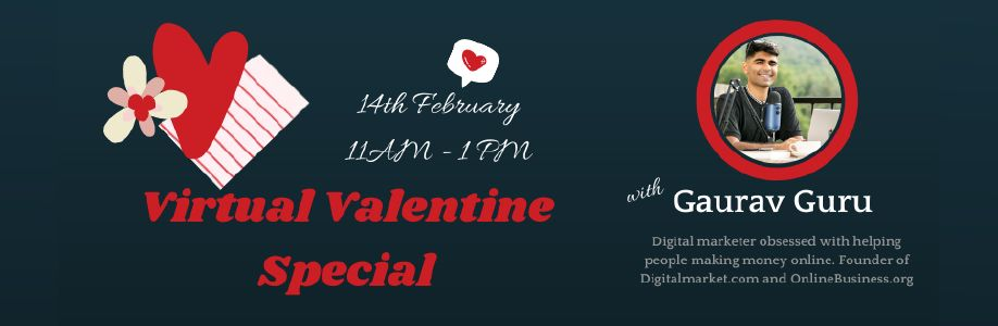Virtual Valentine Special - with Gaurav Guru Cover Image