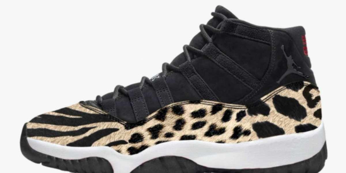 """Women's Air Jordan 11 """"Animal"""" AR0715-010 is so beautiful"""